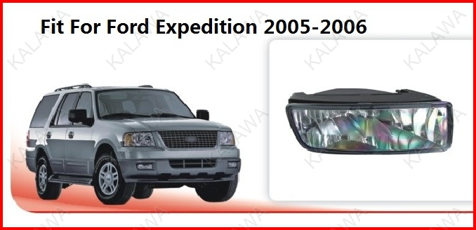 2x Newest 12V 55W LED fog light led chip Fog lamp case for Ford Expedition 2005-2006 without wire FD215 Freeshipping TTT