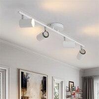 New Modern Living Room Ceiling Light Nordic Rotatable LED Ceiling Lamps for shop Spot Kitchen Ceiling Lights GU10 bulb