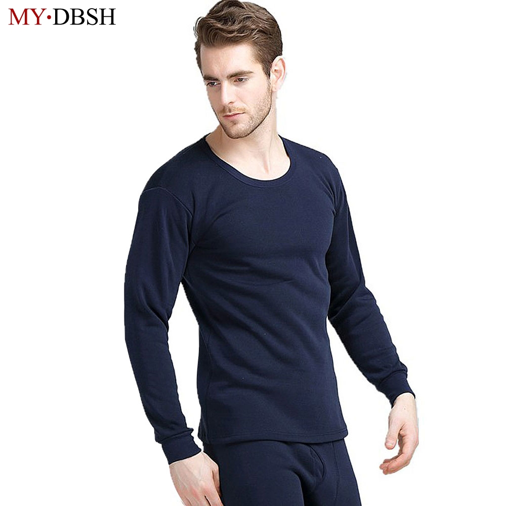2019 New Arrival Autumn Winter Style Mens Thicken Thermal Underwear Men Casual Long Johns Velvet Super-soft V-neck Warm Suits