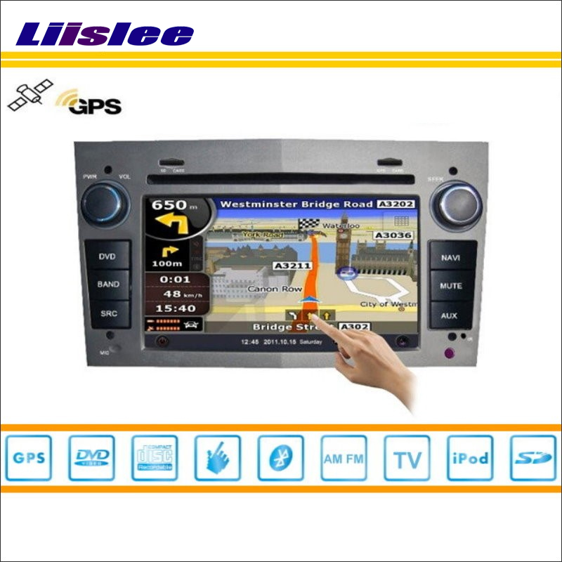 Liislee Car GPS Nav Navi Map Navigation For Opel Antara 2006~2012 Radio Stereo TV DVD iPod BT HD Screen S160 Multimedia System