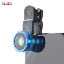 Универсальный роскошный широкоугольный зум макро-объектив для мобильного телефона рыбий глаз камера для iPhone 8X7 6S 5S Plus смартфон Lentes