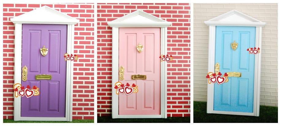2016 1pc 112 doll fairy doors factory cute girls gifts fairy doors children minature doors kids kindergraden photograph door-in Figurines u0026 Miniatures from ... & 2016 1pc 1:12 doll fairy doors factory cute girls gifts fairy doors ...