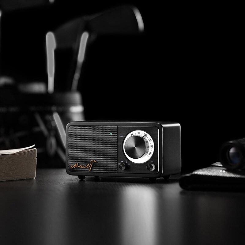 SANGEAN MOZART Alta qualidade mini bluetooth wireless speaker locutor de rádio Frete grátis