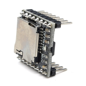 Image 4 - 10Pcs/lot DFPlayer Mini MP3 Player Module MP3 Voice Module for DIY DIY Supporting TF Card and USB Disk Free Shipping