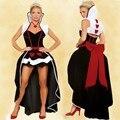 Nueva súper ventas sexy Queen de corazones mujeres del traje adulto de la fantasía de alicia en Wonderland party cosplay disfraz