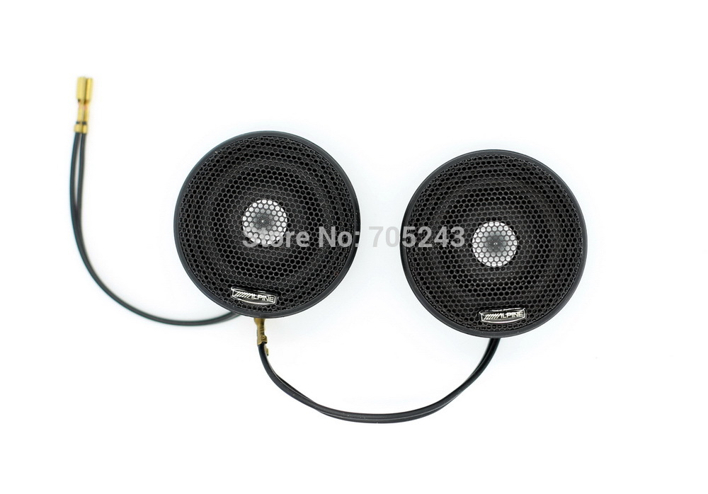 pasangan 2pcs Melo David Audio alpine XT25 HIFI 28MM dome Neo magnet HIFI / AV / Kereta tweeter 4ohm 50W (vifa xt25 orginal model)