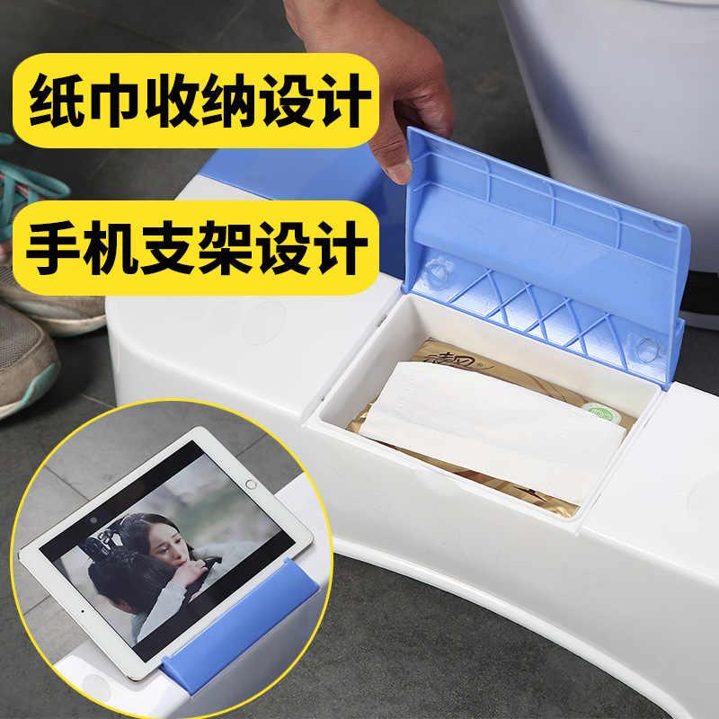 50% скидка роскошное мягкое горшок с подставкой для телефона или тканевой коробкой или туалетным табуретом Подножка для беременных женщин пластиковый стул для взрослых