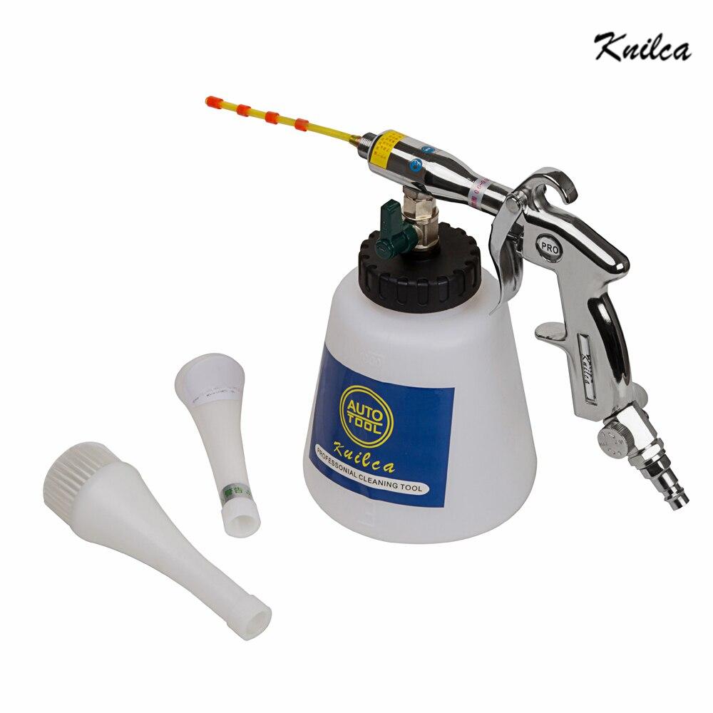 Knilca классический Z-010 пневматический импульс спрей для чистки автомобилей воздуха пистолет Торнадо автомобиль инструмент Twister Циклон сухой ...