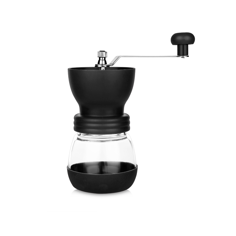 Manual coffee bean grinder Hand-operated bean grinder Homeuse small Water washing Adjustable Ceramic grinding core Hand grinder manual coffee grinder porlex ceramic grinding coffee grinding beans portable adjustable barista mini grinder for coffee