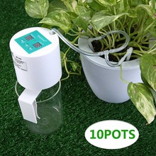 Garden Plant Drip Irrigation Kit Self Watering System Auto Vacation Timer JDH99