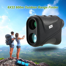 Outdoor 6X22 600m Laser Range Finder Golf Rangefinder Hunting Monocular Telescope Distance Meter Speed Tester(China)