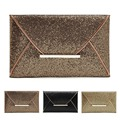 Fashion Women Sequins Clutches Elegant Ladies Evening Bag Envelope Clutch Handbag Golden,black,coffee vy