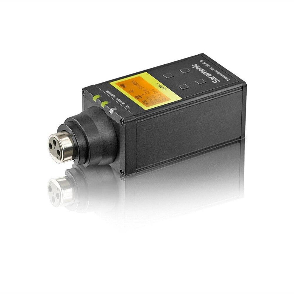 Saramonic UWMIC9 Trasmissione UHF Macchina Fotografica Senza Fili Microfono Lavalier Sistema Trasmettitori + Un Ricevitore per la Videocamera Portatile DSLR - 2