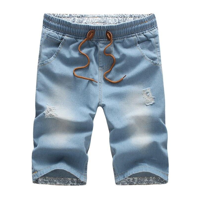 2019 New Summer Men   Shorts   Men Jeans   Shorts   Plus Size Fashion Designers   Shorts   Cotton Jeans Men's Slim Jeans   Shorts   M-5XL AYG241