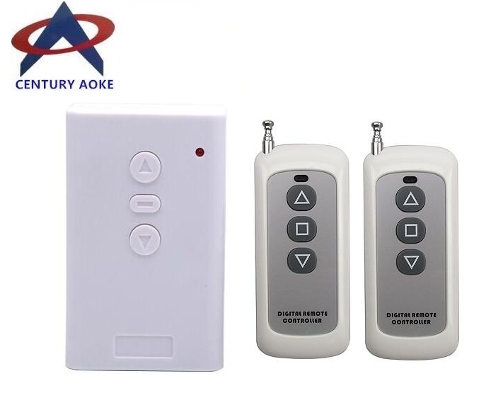 цена на AC 220V Motor Remote Controller Wireless Remote Control Switch UP Down Stop Tubular Motor Controller Motor Forward Reverse TX RF