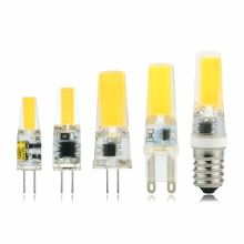 Dimmable G4 G9 E14 LED Lamp Bulb AC/DC 12V 220V 3W 6W COB SMD LED Lighting Lights replace Halogen Spotlight Chandelier