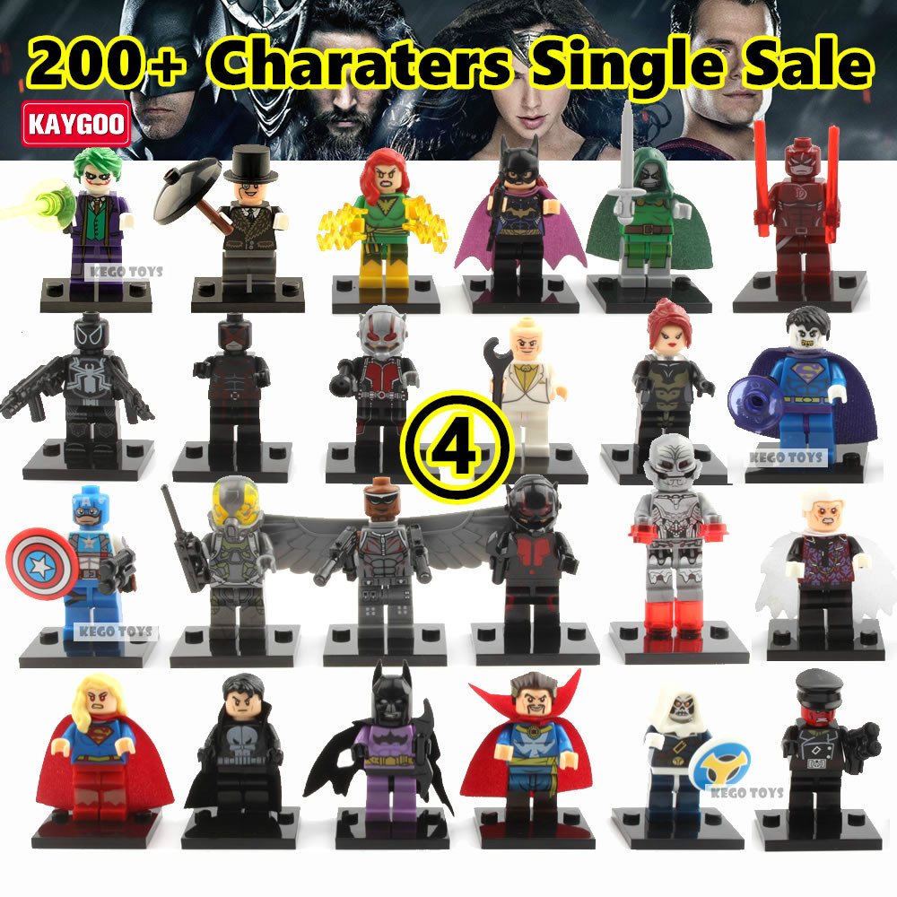 Kaygoo Super Heroes Marvel Avengers Batman Deadpool Wonderwoman Film Figuren Diana Prince...