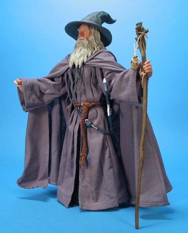 Nouveauté seigneur des anneaux Gandalf assistant Cosplay Halloween Costume personnalisé avec chapeau livraison gratuite