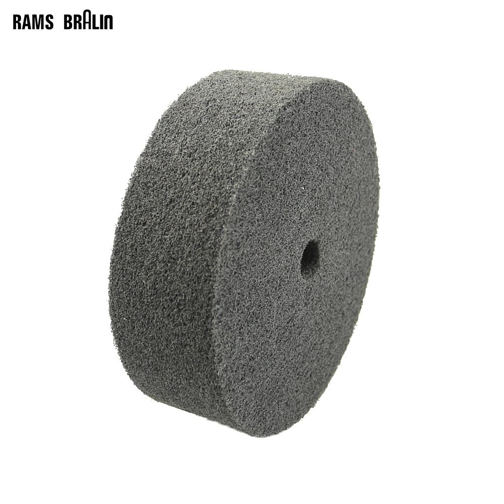 6 In. *2 In.  3P P320 Non-woven Nylon Polishing Wheel For Soft Metal