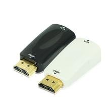 hdmi turn vga line with audio, set-top box HDMI to VGA monitor TV Projector Converter HD