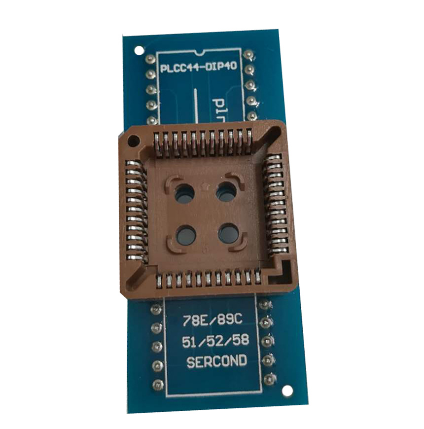 PLCC 44 Adapter PLCC 44 to dip 40 socket for RT809H programmer IC test programmer socket adapter подвесная люстра citilux аттика cl416181
