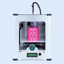 Мини 3D печатная машина трехмерная USB порт LAN порт PLA ABS Материал светодиодный экран 3D принтер этикеток