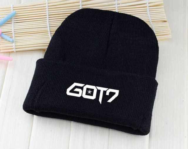 Kpop winter got7 hat unisex printing Skullies & Beanies for women men gorros