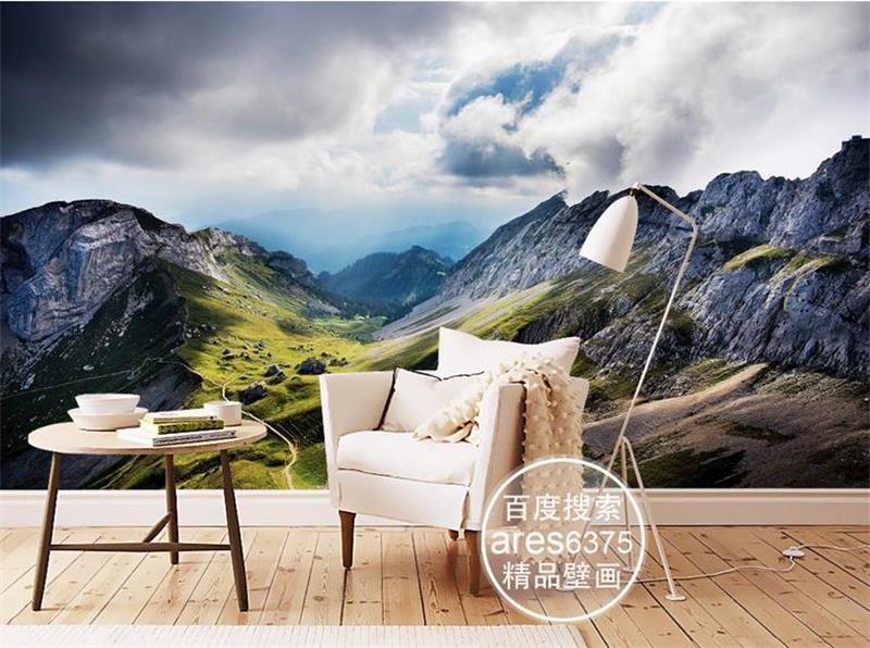 3d wallpaper custom photo wallpaper mural non-woven Pilatus Mountains decoration painting 3d wall mural wallpaper for walls 3d customize wallpaper for walls 3 d swan lake picture in picture 3d tv backdrop 3d photo wall mural 3d landscape wallpaper