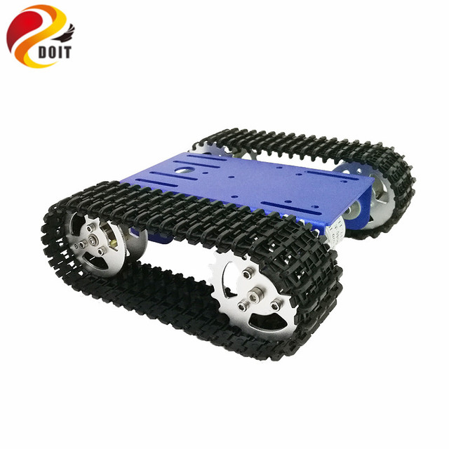 DOIT 2018 New Design WiFi RC Tank Chassis Robot Platform Tracked Chassis with Solid Structure for Arduino/Nodemcu Development