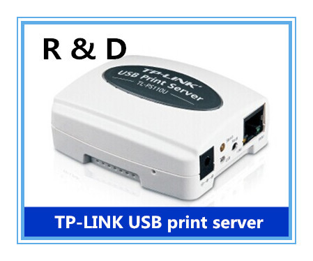 TP LINK TL PS110U USB 2.0 Print Server Share a LAN Networking USB