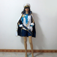 Elsword Eve Navy Party Halloween Uniform Outfit Cosplay Costume Customize Any Size