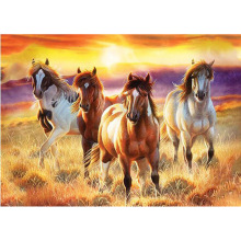 Beautiful horse diamond Embroidery diy painting mosaic 3d cross stitch picture H738