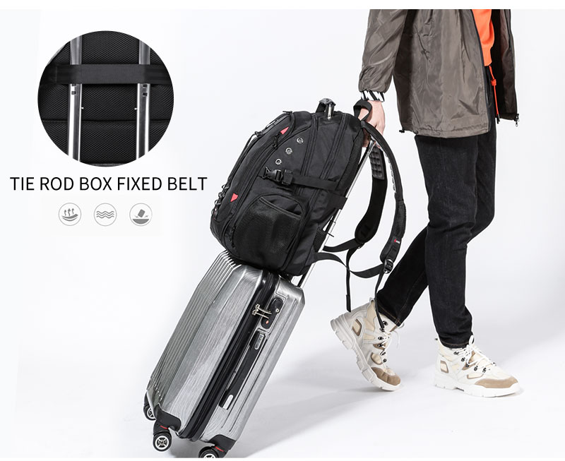 Travel Backpack USB Anti theft
