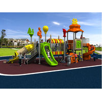 Hot Sell High Quality Water Proof Antirust Big Play Structure Amusement Park Outdoor Playground For Kids
