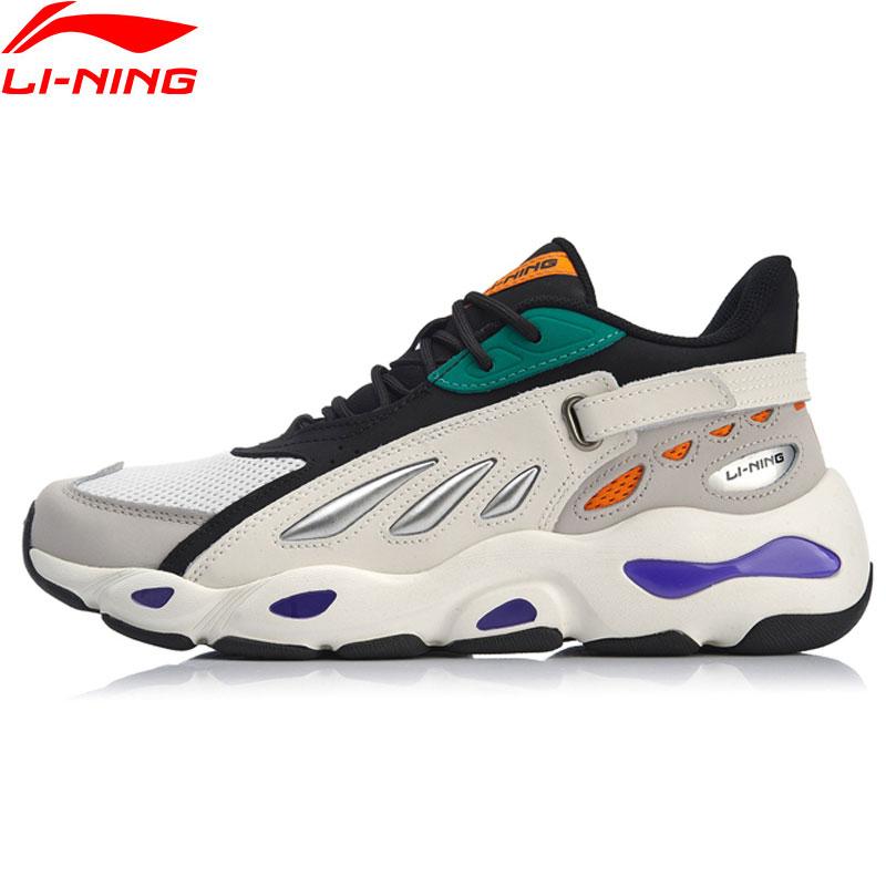 Li-ning hommes papillon 2018 chaussures de marche NYFW papa chaussures baskets portables doublure chaussures de Sport AGCN225/AGLP035/AGLN069 YXB238