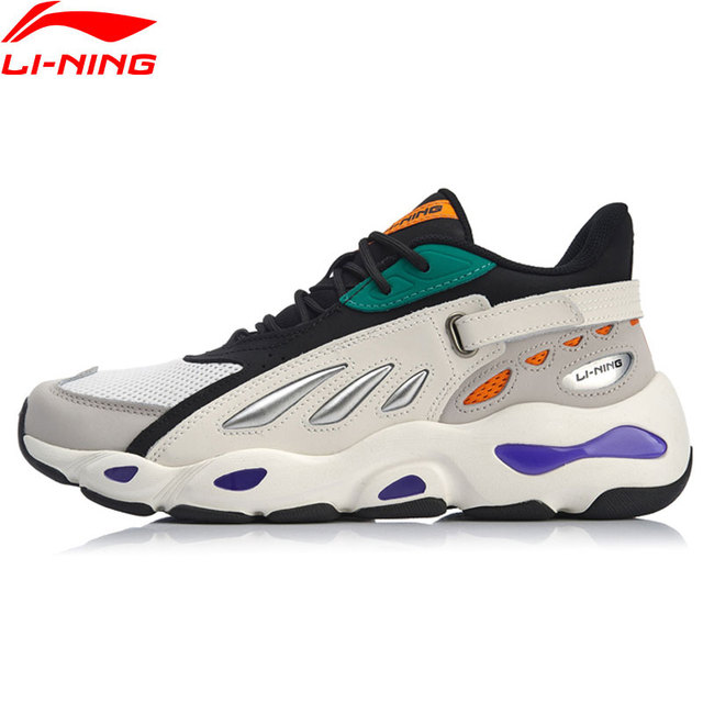 Li-Ning Men Butterfly 2018 Walking Shoes NYFW Dad Shoes Wearable Sneakers LiNing Sport Shoes AGCN225/AGLP035/AGLN069  YXB238