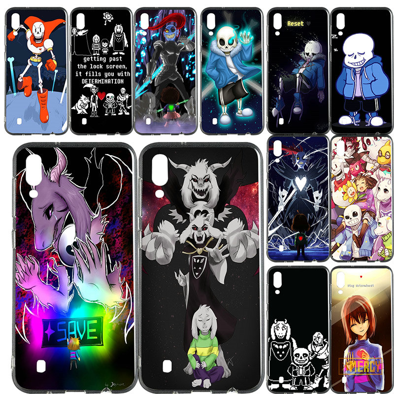 Soft TPU Phone Cases Cover for Samsung Galaxy Note 8 9 S2 S3 S4 S5 Mini S6 S7 S8 S9 S10 Edge Plus Lite Undertale Papyrus Sans
