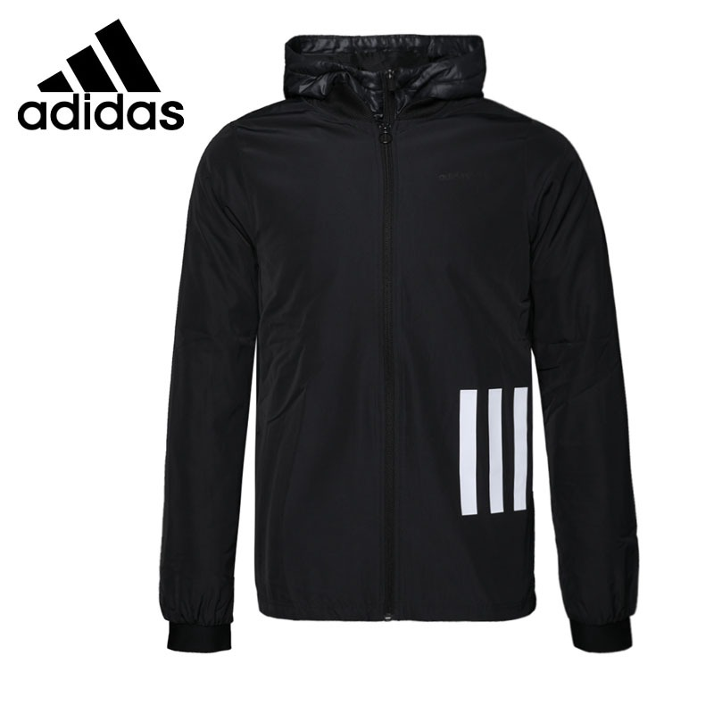 Original New Arrival 2018 Adidas NEO Label Men's Cotton-padded jacket Hooded Sportswear