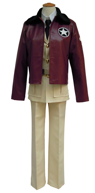 Axis Powers Hetalia Unisex Us Usa America Cosplay Costume Custom Any Size