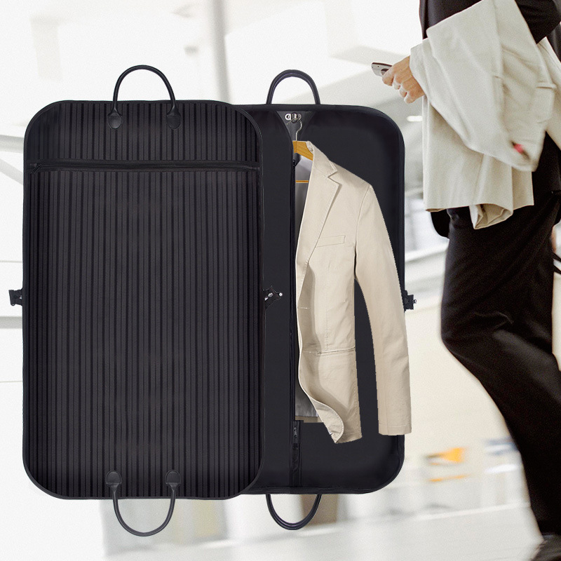 Men Travel Business Suit Bag Clothing Garment Coat Dustproof Organizer Luggage Hanger Closet Wardrobe Hanging Case Accessories