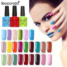 IBCCCNDC Primer Gel Nail Polish 10ML 79 COLOR Soak-Off UV LED Art Design Varnishes Lacquer Base Top Coat