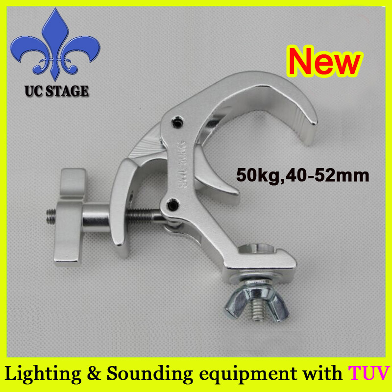 Pole/Truss Clamp Kits,Disco Lighting clamp,Doughty Lighting Truss Clamp 290mm aluminum stage truss structure event lighting spigot truss with black coated