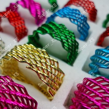 300pcs Unisex Wholesale Jewelry Lots ring Mix color Enamel Fashion Rings Free shipping BL262