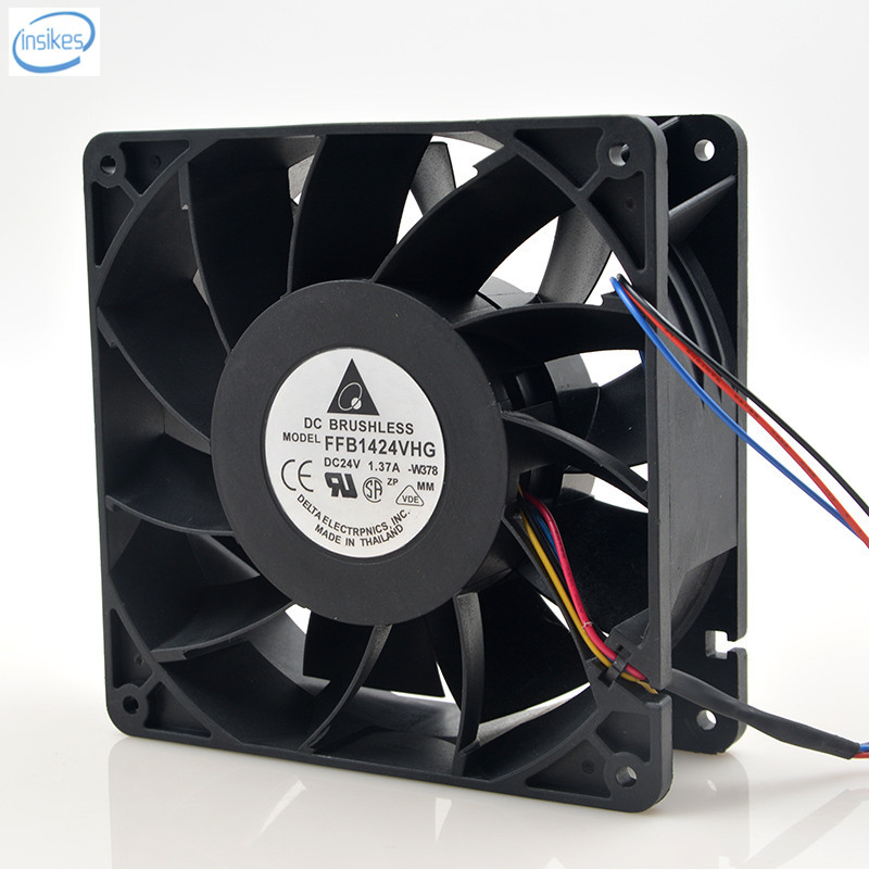 Original FFB1424VHG Computer Blower Cooling Axial Fan DC 24V 1.37A 14050 140*140*50mm 4 Wires placebo placebo mtv unplugged 2 lp