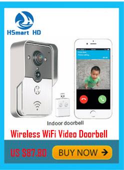WiFi Smart Video Doorphone 1.0MP HD 720P IP Camera