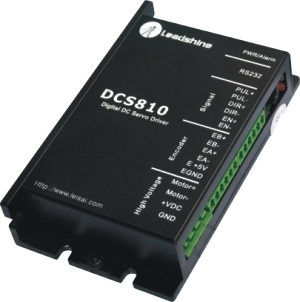 free shipping,New Leadshine DC servo drives DCS810 work 48-80 VDC out 0A to 20A fit for DCM50207/DCM57207 servo motor 180W new leadshine servo drives dcs303 work parameter 30 vdc can out 1a to 15a for associated products dcm50205 dc servo motor
