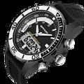 Moda marca sanda hombres de relojes de lujo g estilo impermeable militar deportes relojes de choque de lujo analógico digital relojes deportivos hombres
