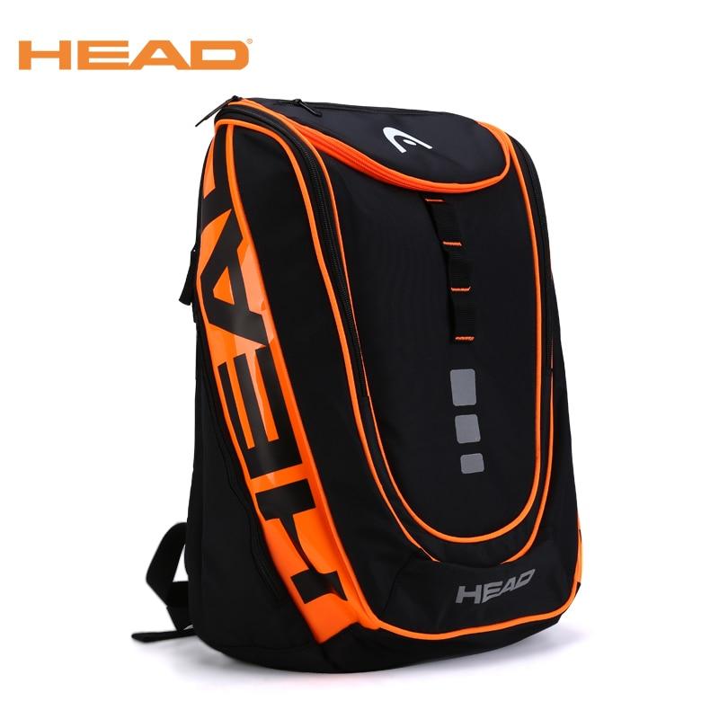 New Original Head Brand Raquete Tennis Bag Racket Sport Backpack Tennis Bag for men women