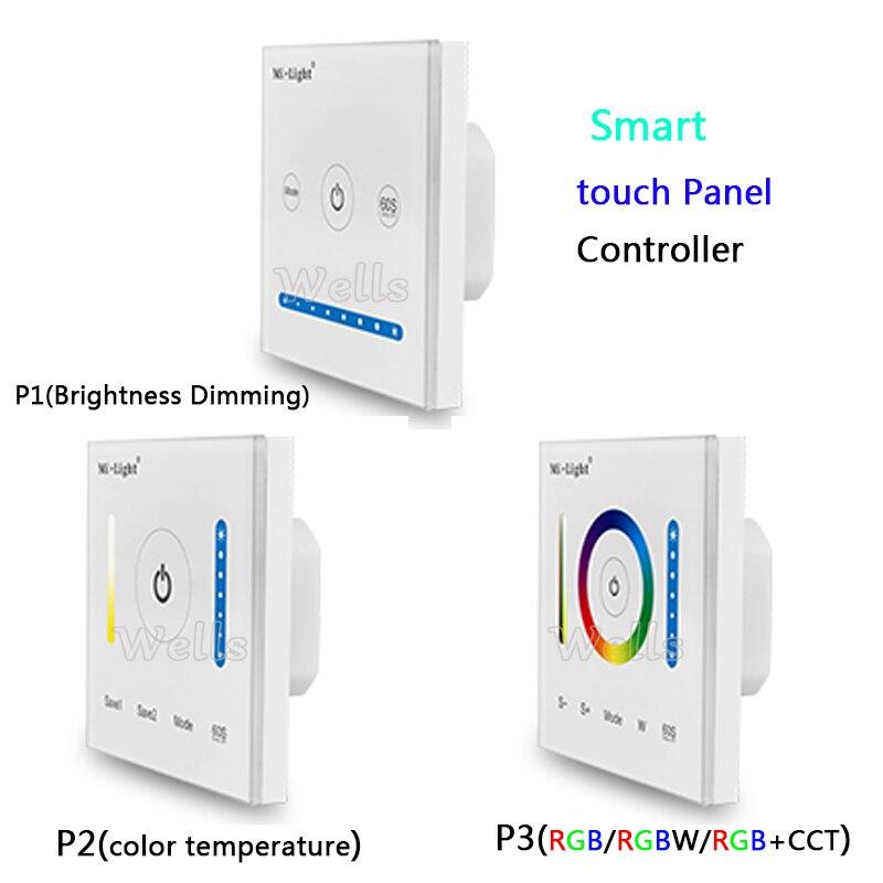 Beleuchtung Zubehör P1/p2/p3 Milight Led Smart Panel Controller Dimmen Led Dimmer Rgb/rgbw/rgb Cct Farbe Temperatur Cct Für Led Panel/streifen Licht Weniger Teuer
