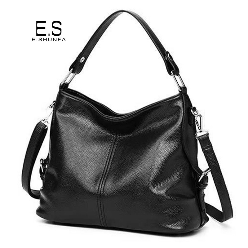 New Fashion Women Shoulder Bags 2018 High Quality PU Leather Handbag Shoulder Bag Black Zipper Casual Women Bag Large Capacity multifunctional pu leather zipper decor shoulder bag